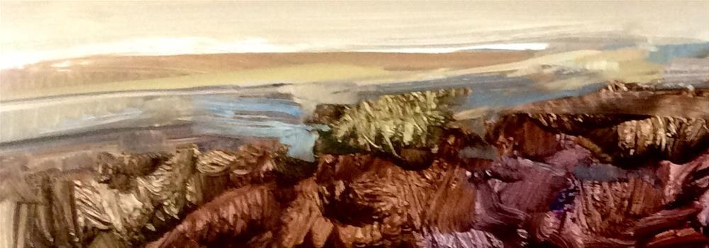 """Shoreline"" original fine art by Anne Wood"
