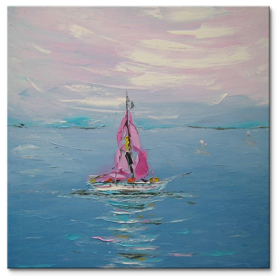 """Along the coast"" original fine art by Elena Lunetskaya"