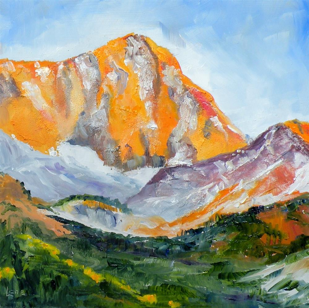 """CAPITOL PEAK © SAUNDRA LANE"" original fine art by Saundra Lane Galloway"