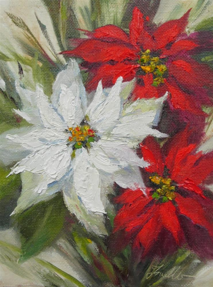 """Holiday Welcome"" original fine art by Pat Fiorello"