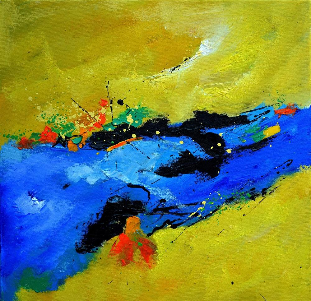 """abstract 5551101"" original fine art by Pol Ledent"
