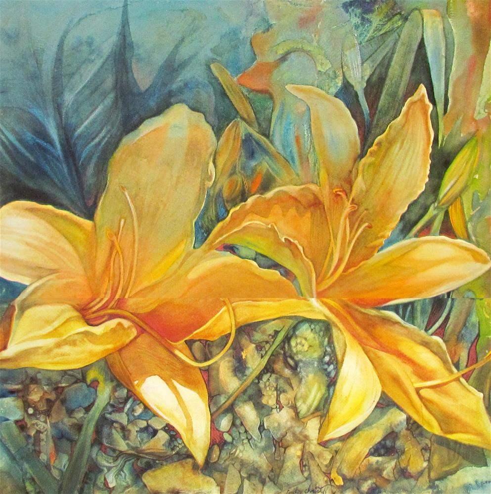 """Underwater"" original fine art by emily Christoff-Flowers"