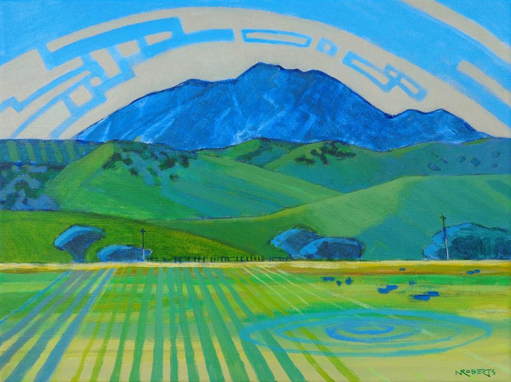 """Diablo from Deer Valley"" original fine art by Nancy Roberts"