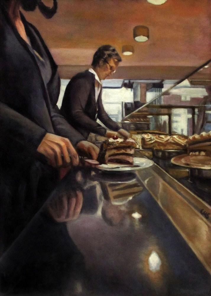 """""""Prepare"""" original fine art by Ulrike Miesen-Schuermann"""