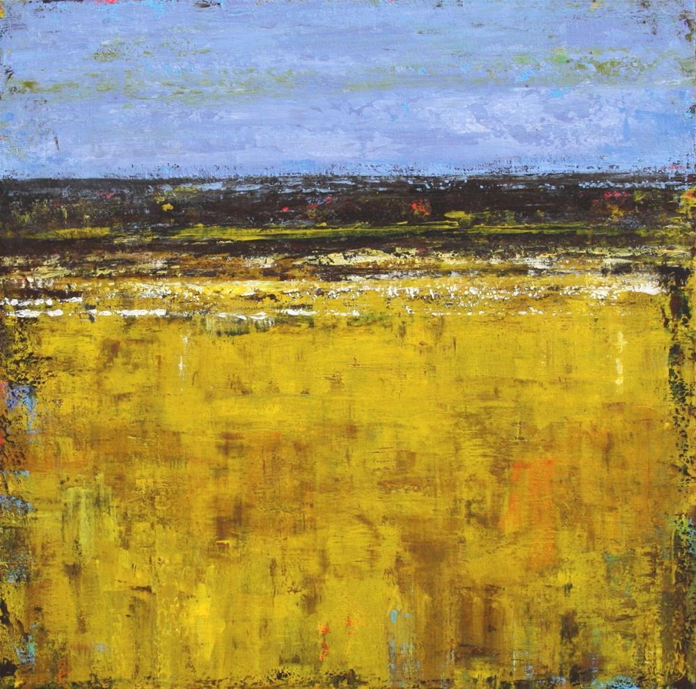 """Prairie Wheat"" original fine art by Sage Mountain"