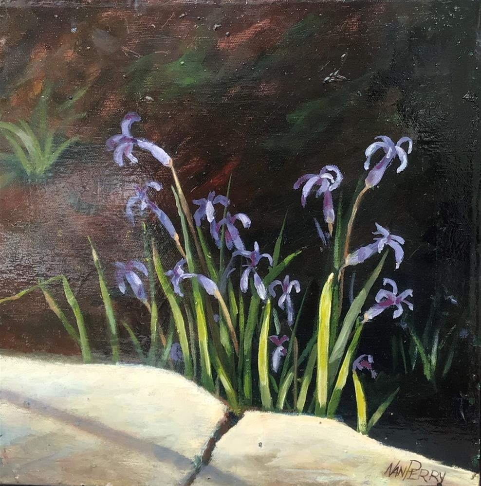 """Early Blooms"" original fine art by Nan Perry"