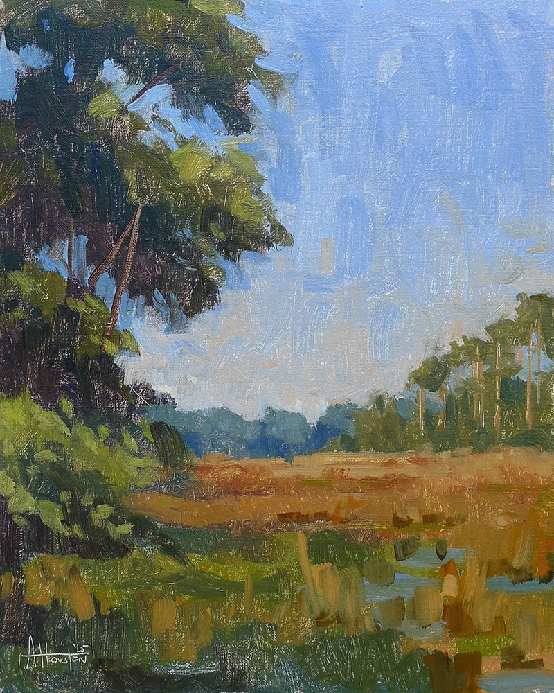 """Bulow Creek Marsh"" original fine art by Adam Houston"