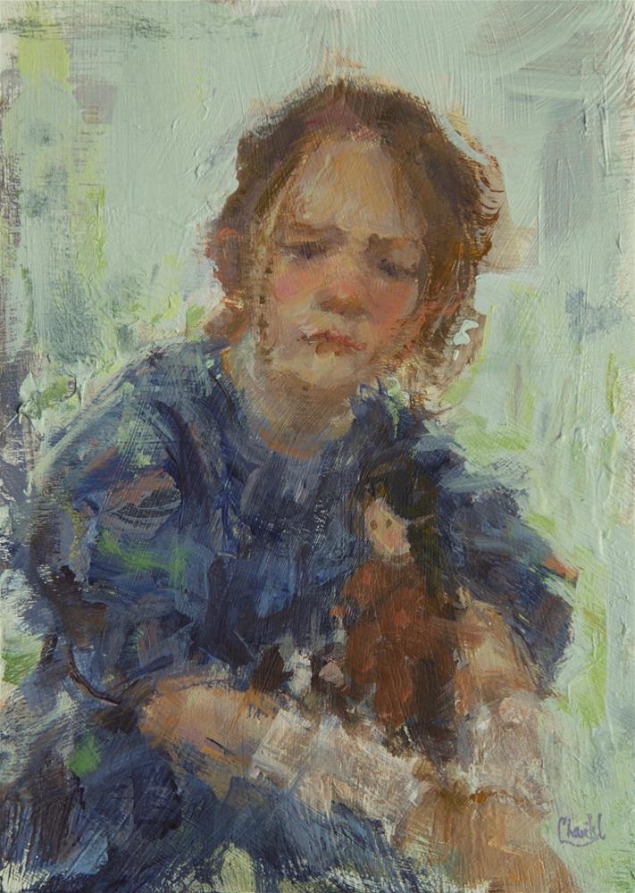 """In Need Of Comfort"" original fine art by Chantel Barber"