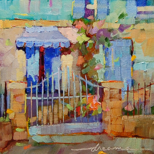 """Candy Colors of France"" original fine art by Dreama Tolle Perry"