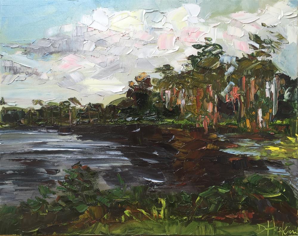 """My View"" original fine art by Denise Hopkins"