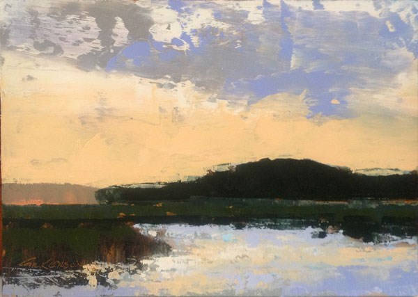 """Store Creek, Summer Sunset"" original fine art by Mary Gilkerson"