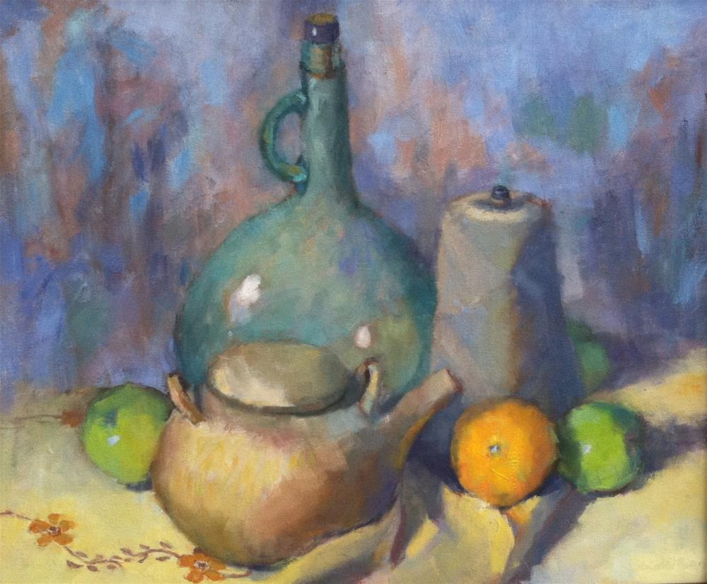 """Still Life with Twine"" original fine art by Katharine March"