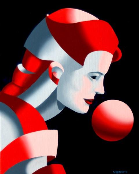"""Mark Adam Webster - Dark Matter Painting Series #9"" original fine art by Mark Webster"
