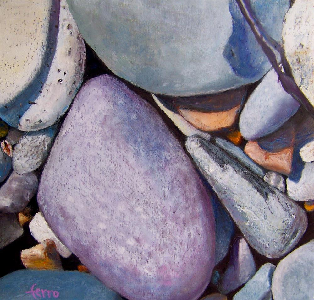 """Tidal Arrangement"" original fine art by Susan Ferro"