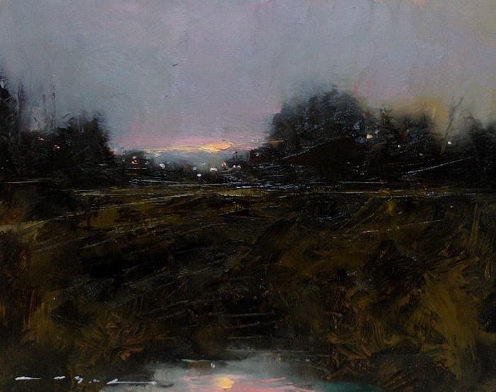 """Landscape__LS10"" original fine art by Angel Angelov"