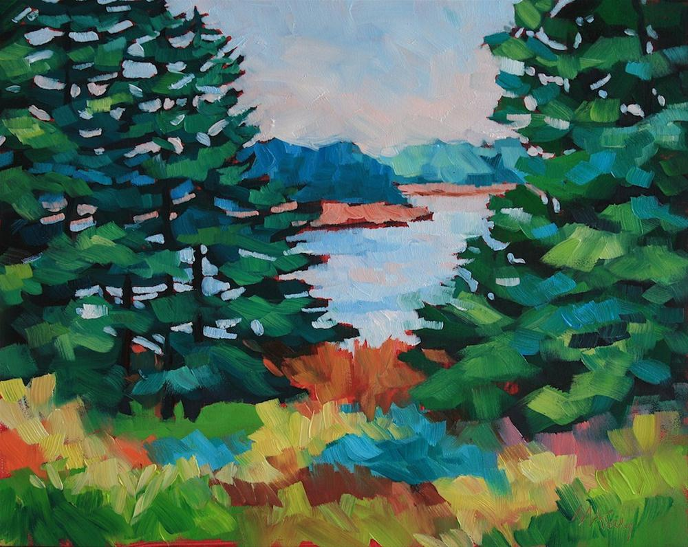 """""""Weekend Away"""" original fine art by Mary Anne Cary"""