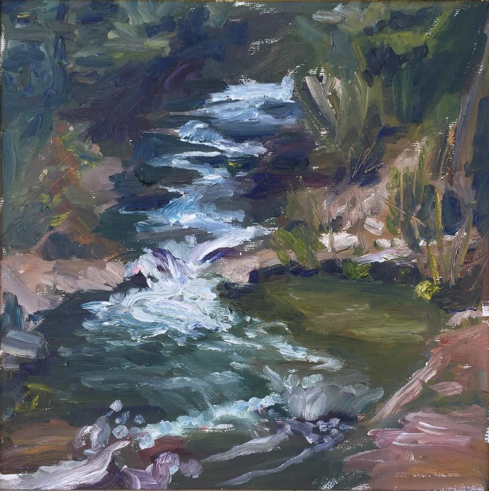 """Bear Creek"" original fine art by Rick Blankenship"