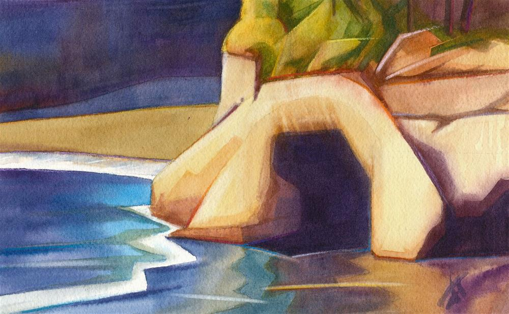 """Whale Cove"" original fine art by Mark Allison"