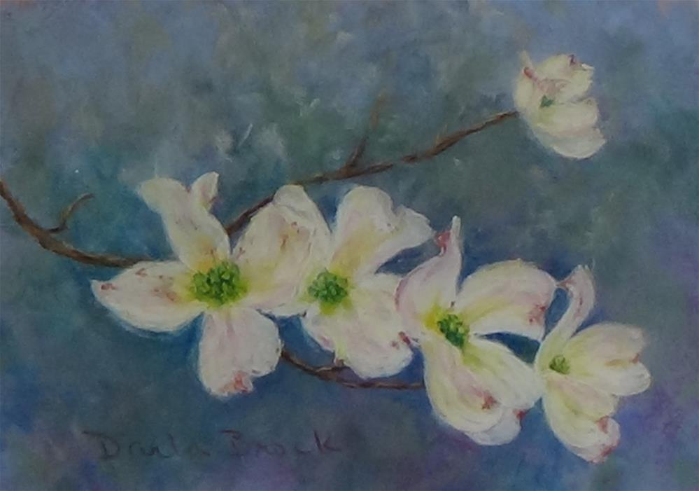 """Signs of  Spring"" original fine art by Darla Brock"