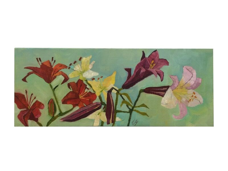 """Lily"" original fine art by Elizabeth See"