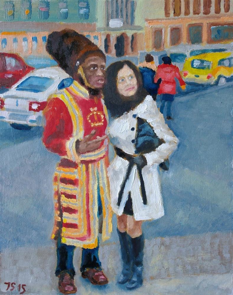 """""""two"""" original fine art by Yuriy Semyonov"""