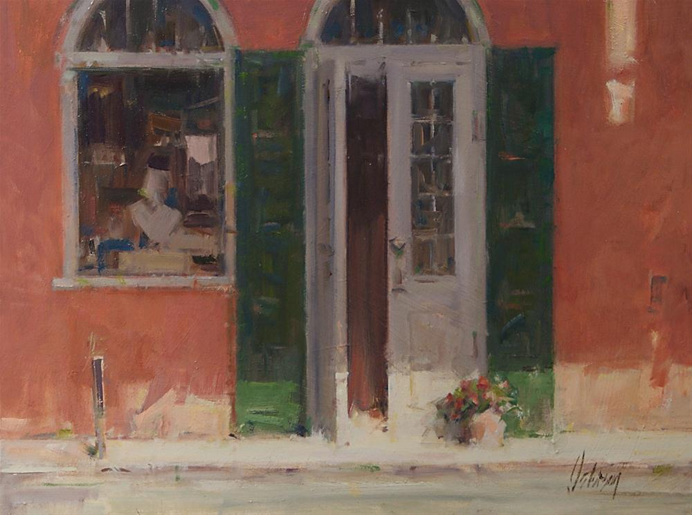 """Noon, New Orleans"" original fine art by Mike Peterson"