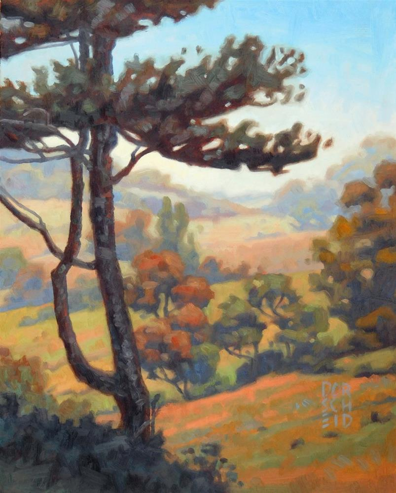 """Golden Valley"" original fine art by Les Dorscheid"