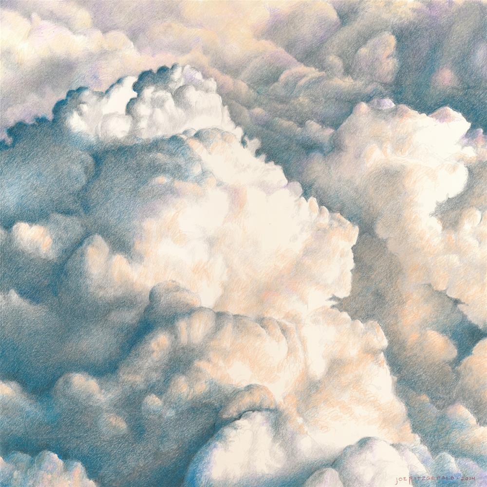 """Clouds Over Wales II"" original fine art by Joe Fitzgerald"