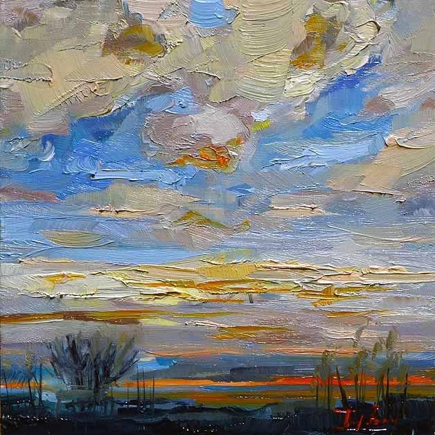 """Am Morgen"" original fine art by Jurij Frey"