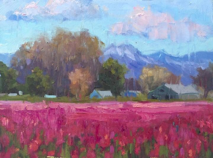 """Tulips Heaven"" original fine art by Emiliya Lane"