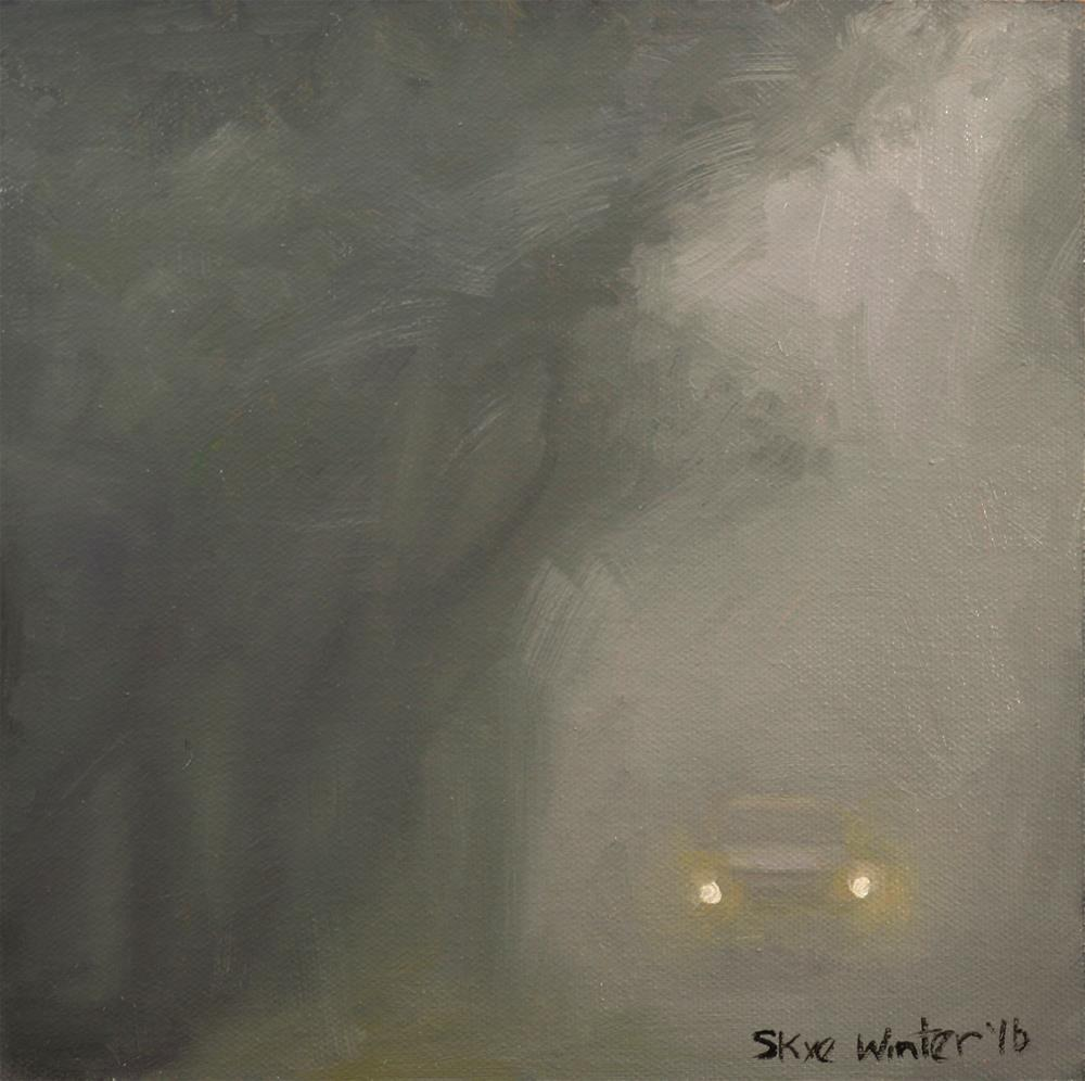 """Fog Lights"" original fine art by Skye Coddington"