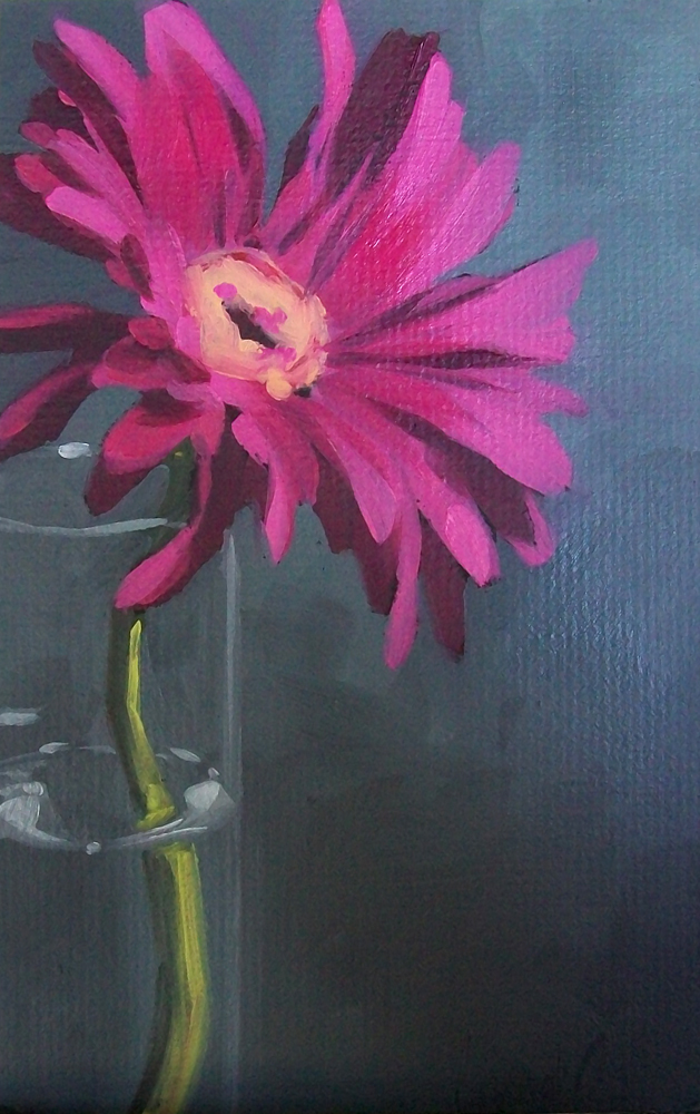 """pink beauty"" original fine art by Brandi Bowman"