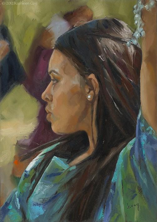 """Dance"" original fine art by Kathleen Coy"