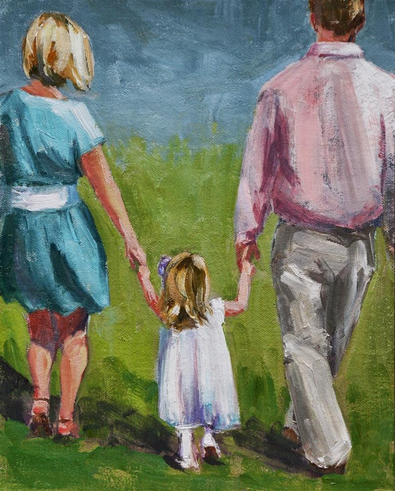 """piper's family"" original fine art by Carol Carmichael"