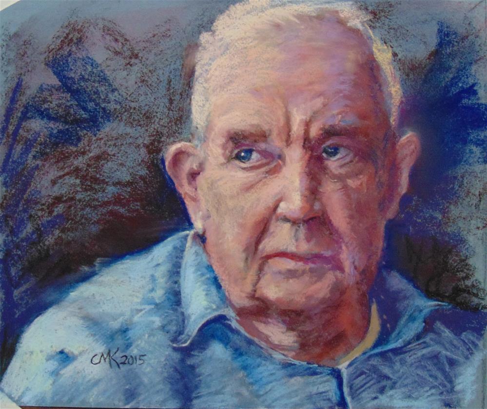 """Dad "" original fine art by Catherine Kauffman"