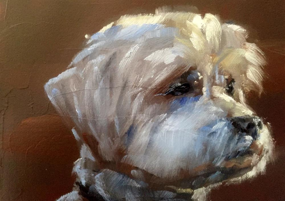"""My Best Side"" original fine art by Gary Bruton"