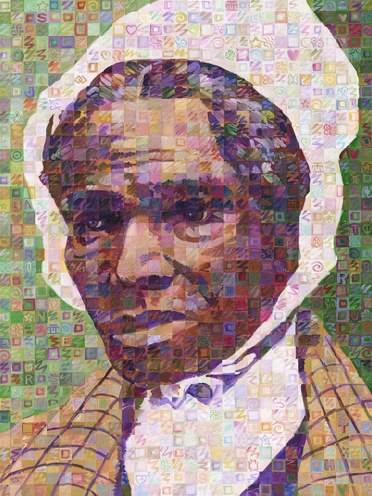 """Voices Of Freedom – Sojourner Truth"" original fine art by Randal Huiskens"