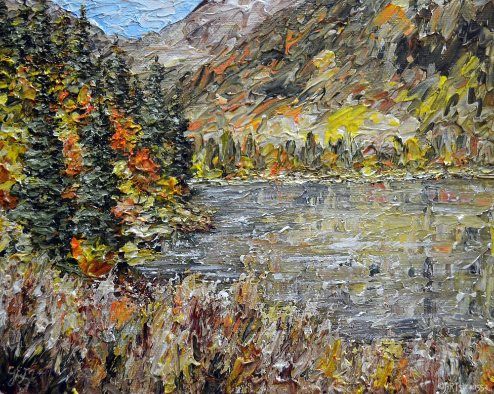 """Fall Time In B.C."" original fine art by Gloria Ester"