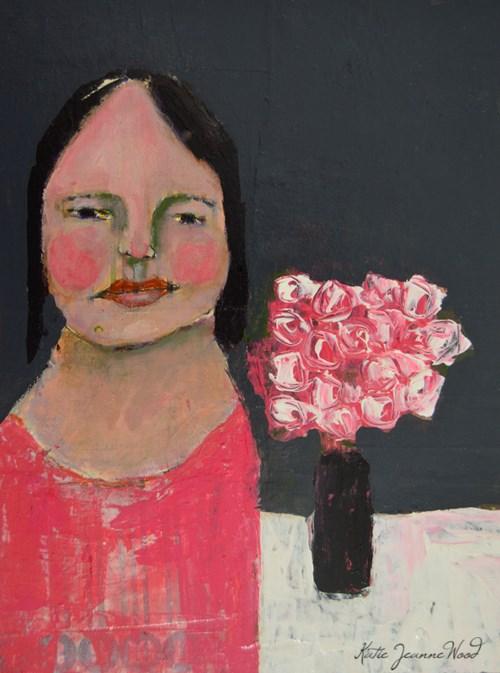"""The Gift"" original fine art by Katie Jeanne Wood"