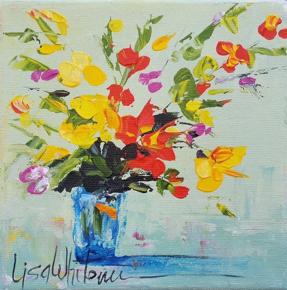 """118 - Plenty"" original fine art by Lisa Rogers"