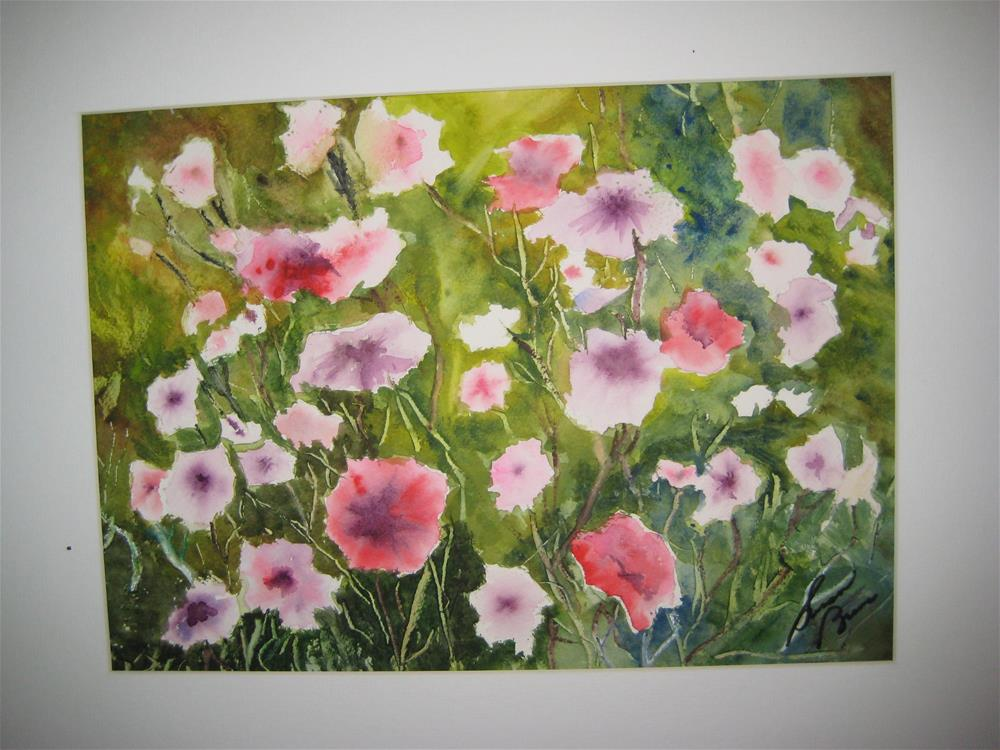 """Field of Flowers"" original fine art by Susan Brens"