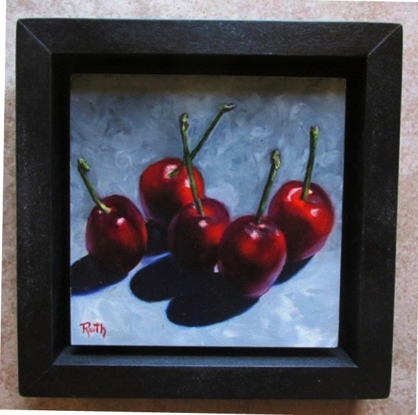 """Five Bings"" original fine art by Ruth Stewart"