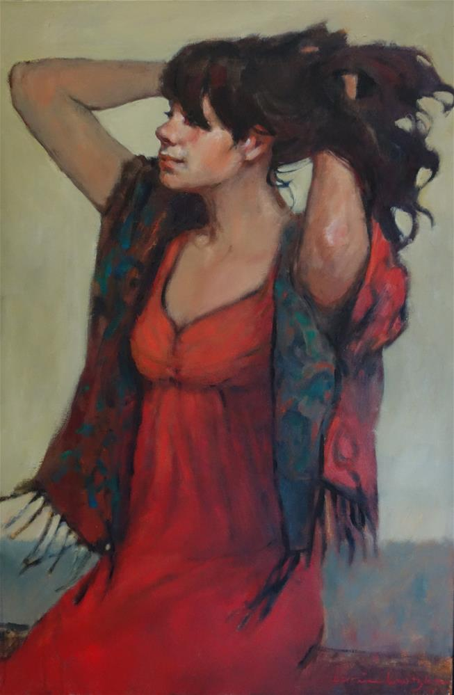 """Feeling Good"" original fine art by Lorraine Lewitzka"