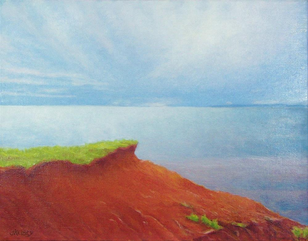 """Red Coast"" original fine art by J Kelsey"