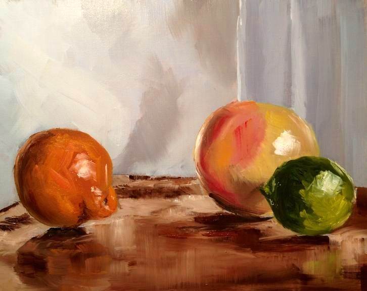 """Citrus"" original fine art by Gary Bruton"