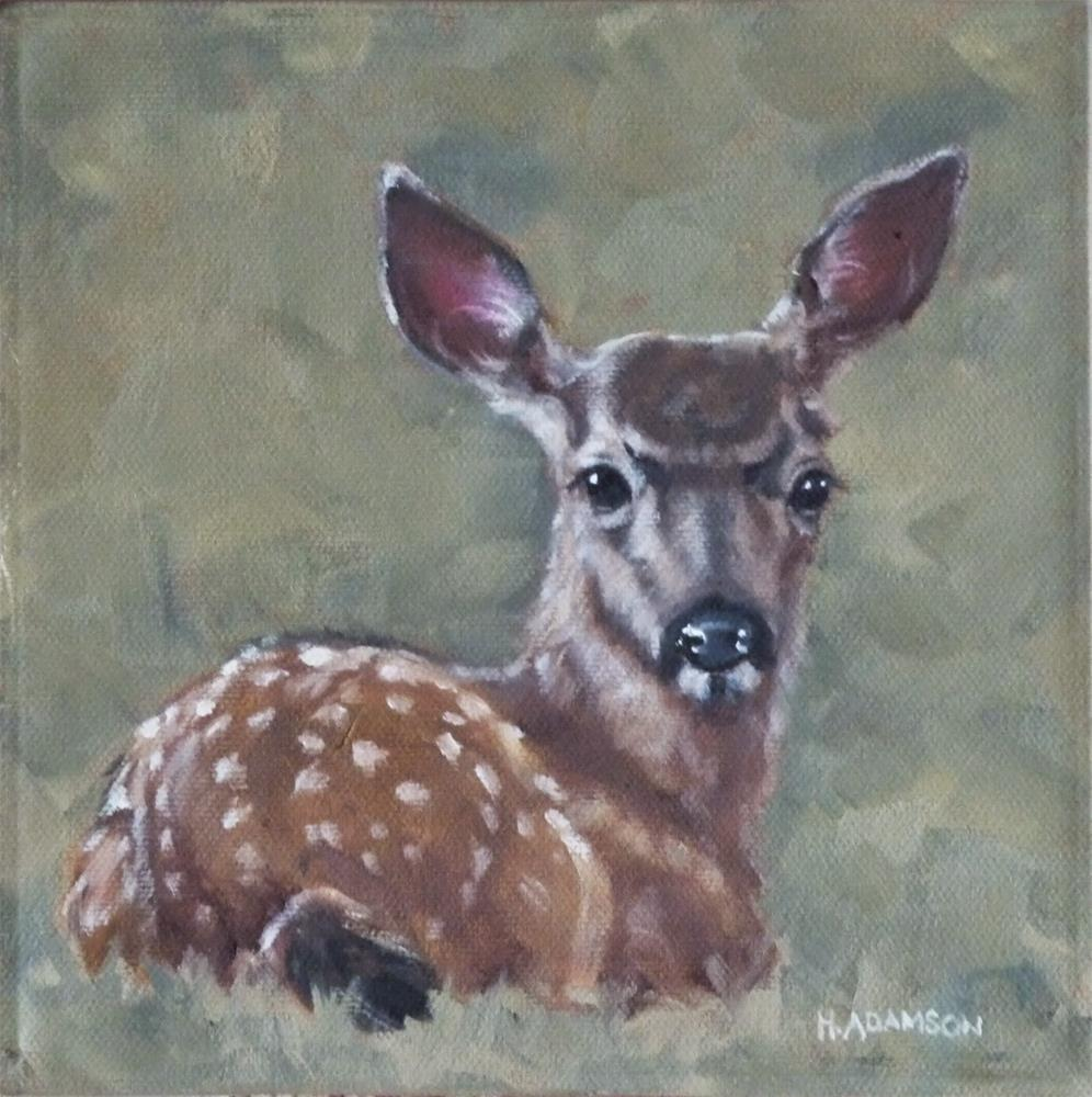 """All Ears"" original fine art by Helene Adamson"