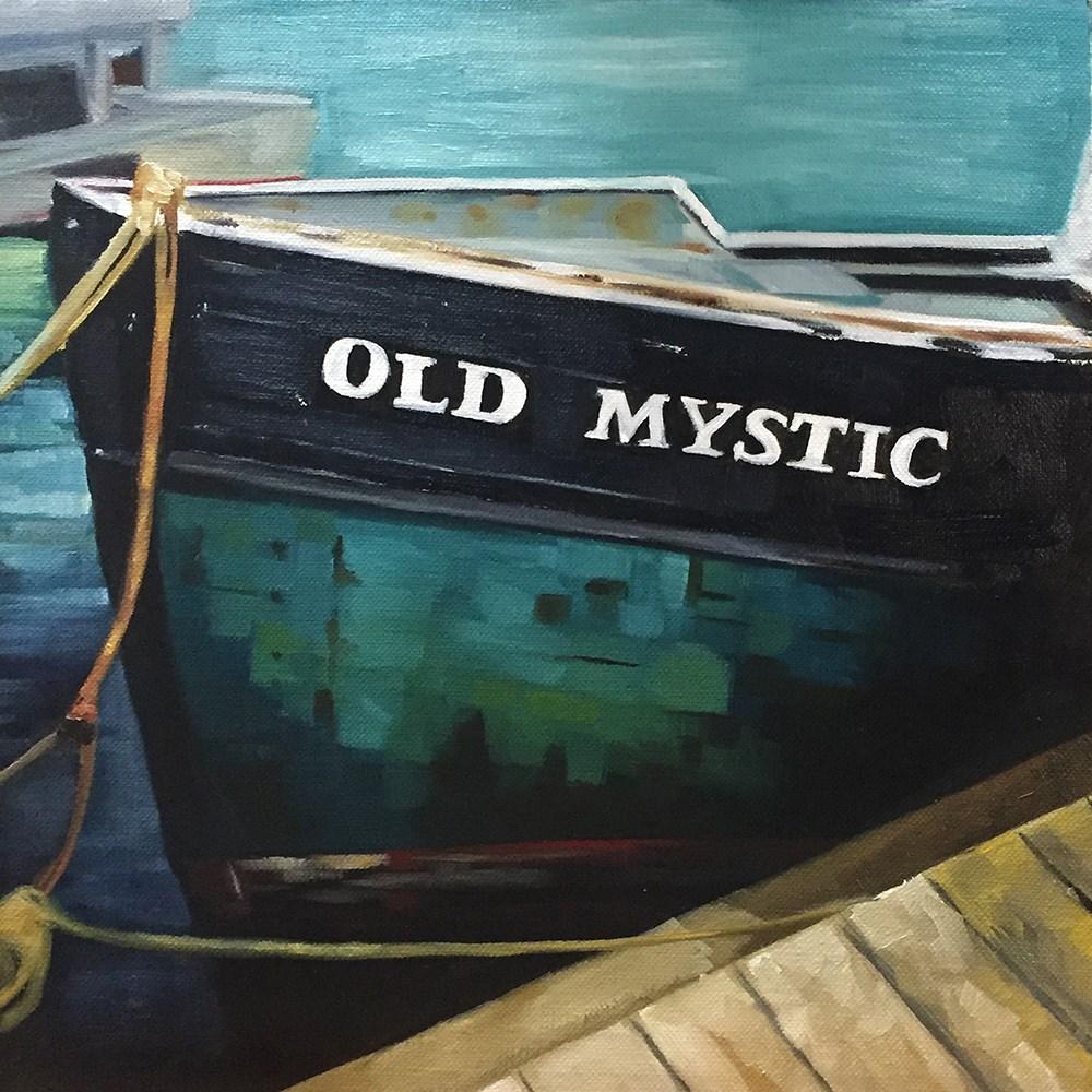 """""""Old Mystic"""" original fine art by Elizabeth Dawn Johnston"""