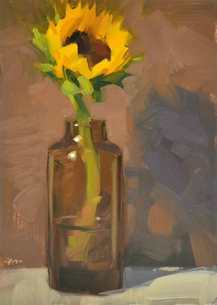 """Too Sexy For My Bottle"" original fine art by Carol Marine"