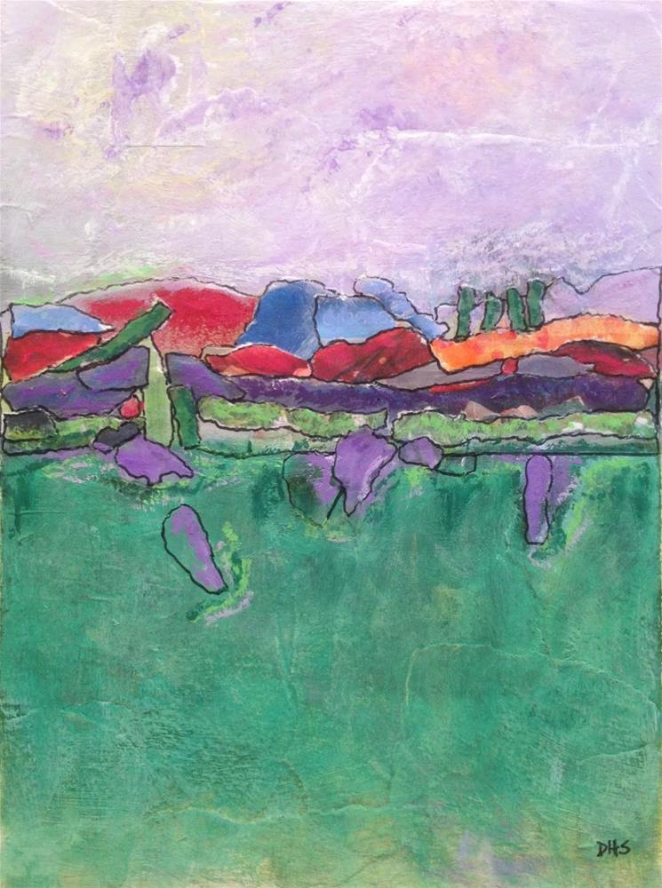 """""""Edges"""" original fine art by Dotty  Seiter"""