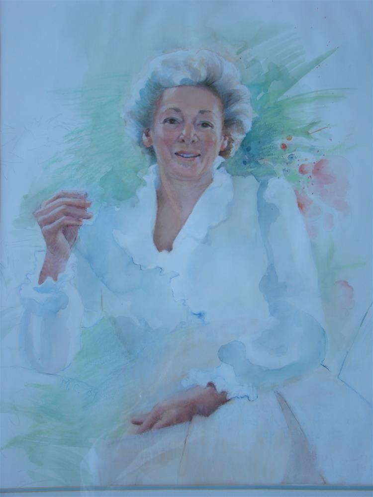 """BettyM"" original fine art by meribeth coyne"